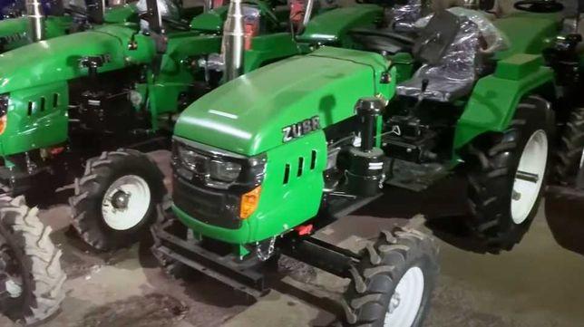Мінітрактор ЗУБР Т-245 XL 24 к.с. +фреза трактор Т245 з доставкою