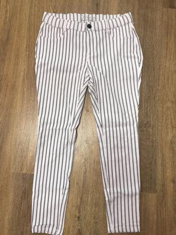 Брюки штаны в полоску denim 44 размер