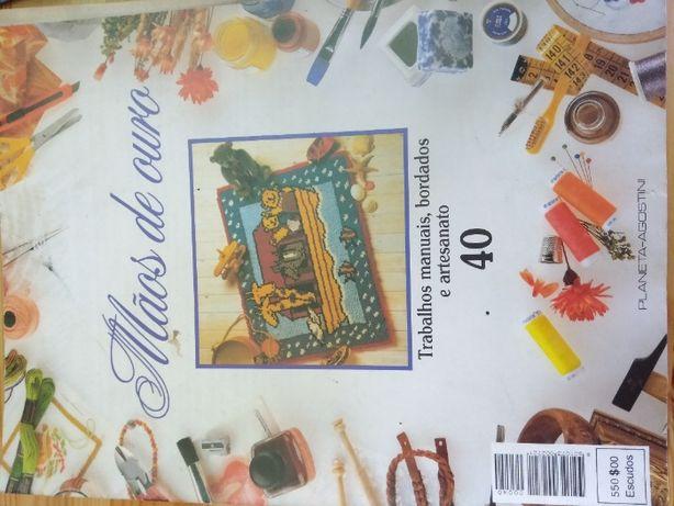 Revista Todo Ganchillo, Mãos de Ouro - Moda, Roupa, Crochê, Bordados