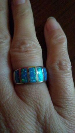 Srebny pierścionek rozmiar 14