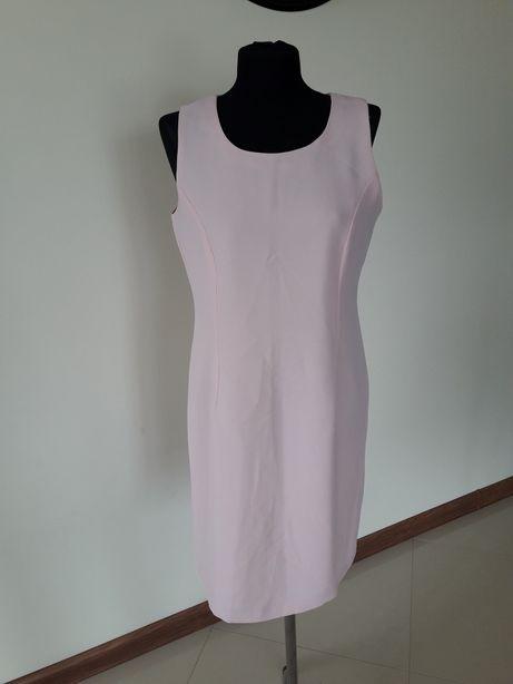 Pudrowy sukienka r.42