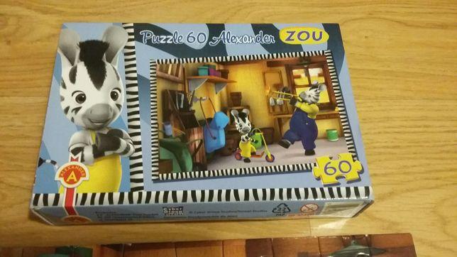 "Puzzle Aleksander ""Zebra Zou"" 60 el."