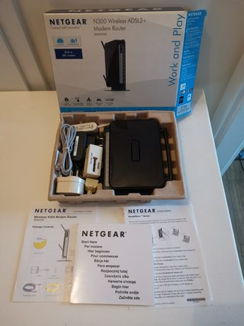 Router NETGEAR N300 ADSL2+ DGN2200
