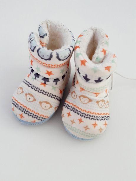buty pantofle kapcie niemowlęce r 18