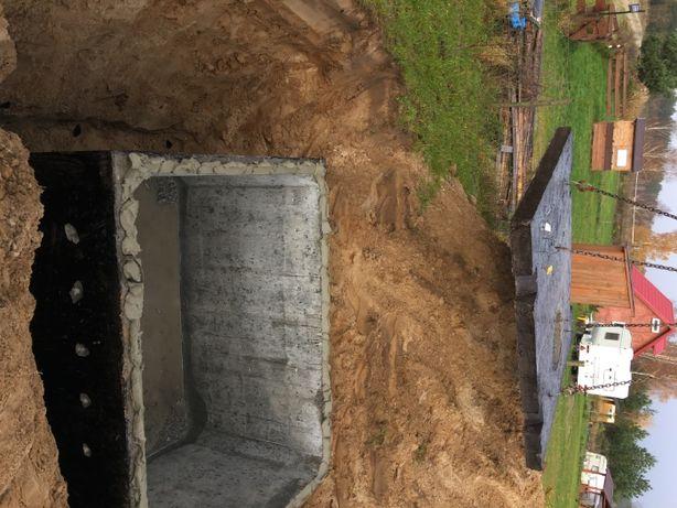 Szambo Deszczówka Betonowe Zbiorniki Transport+Montaż