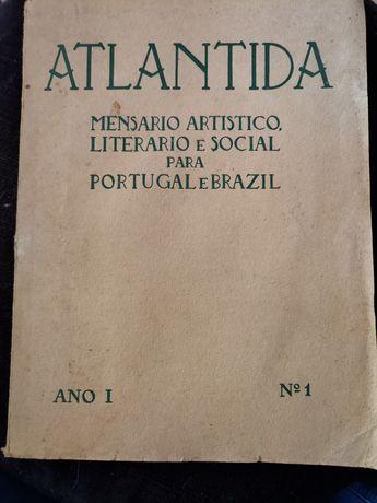 Raridade cultural!!!Atlantida 15 /11/1915 Ano1  Nº1 como nova!!!