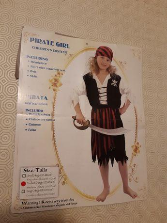 Vendo fato de carnaval de de Pirata Girl
