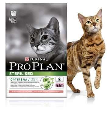Pro Plan Sterilised 10 кг для стерилизованных котов с лососем