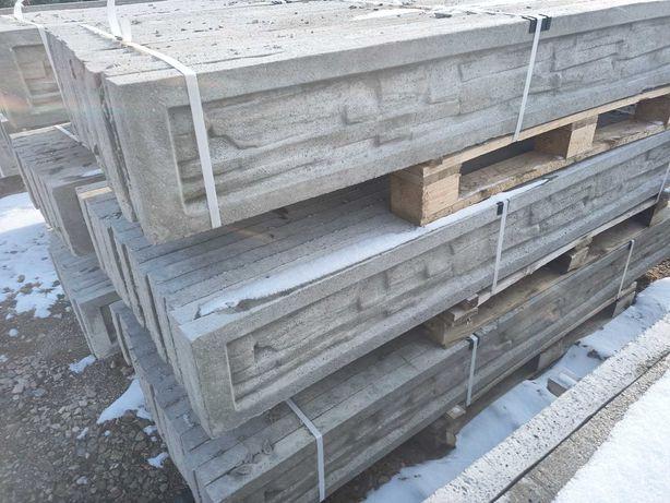 Podmurówka betonowa zbrojona ogrodzenie panel słupek siatka