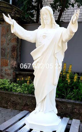 Статуя Иисуса Христа скульптура высота 1.3 метра для улицы гарантия3г