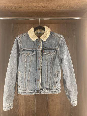 Джинсовая женская  куртка Levi's Original