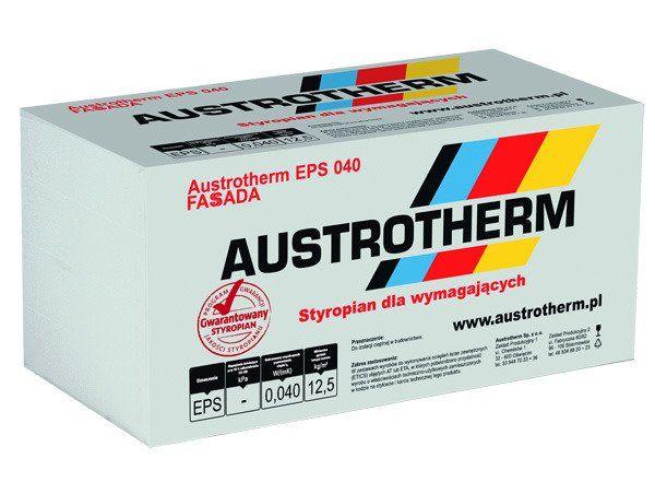 Styropian Austrotherm Fasada EPS 040 , cena ; 248,00 brutto