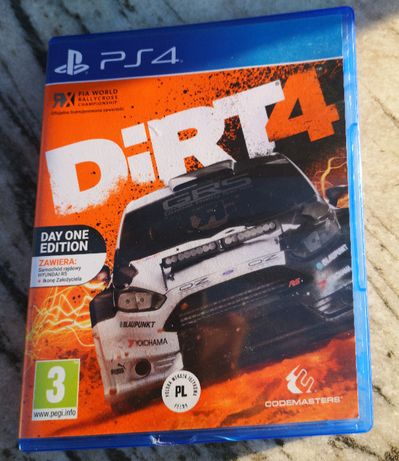 Gra na konsolę PS4 DIRT 4 Day One Edition PL KOD - stan idealny