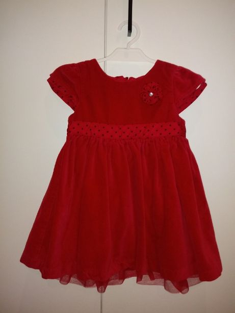 czerwona sukienka święta cool club r 86