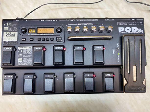 Гитарный процессора эффектов Line 6 POD XT Live
