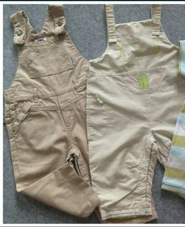 Пакет одежды на мальчика, комбинезон 6-12 мес.