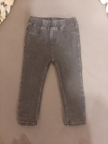 Jeginsy H&M rozmiar 80