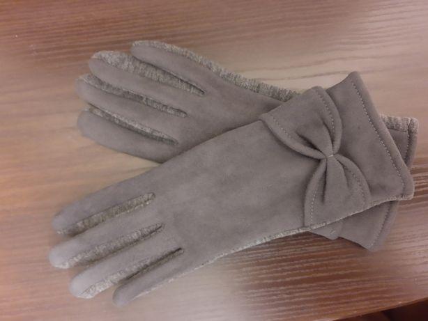 Перчатки эко-кожа (замш)