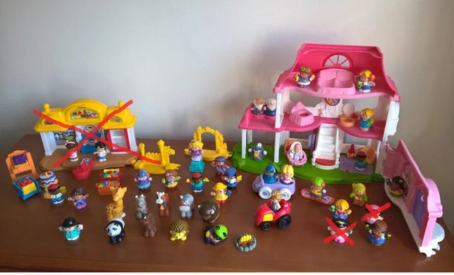 Brinquedos Little People da FISHER PRICE
