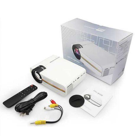 Проектор мультимедийный Led Projector YG-400 white с динамиком