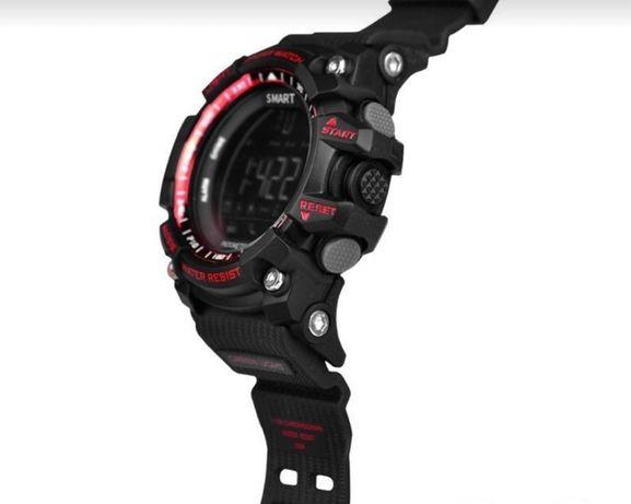Duży zegarek sportowy WIELE FUNKCJI kroki kalorie powiadomienia NOWY