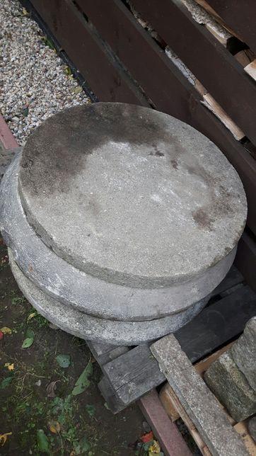 Stożek betonowy podstawa + pokrywa od studzienki. PROMOCJA!! TANIO!!!