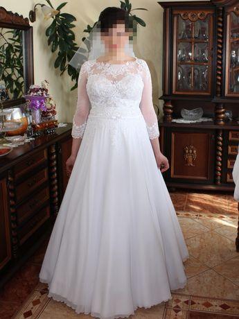 Sprzedam suknię ślubną ciążową w rozmiarze 40