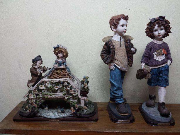 3 Bonecos porcelana