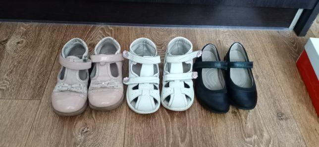 туфли босоножки Lapsi ecco три пары за 650 +кроссовки в подарок