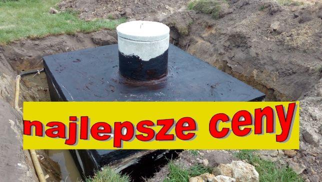 szambo 8m3 szamba betonowe zbiornik na deszczówkę kanał betonowy
