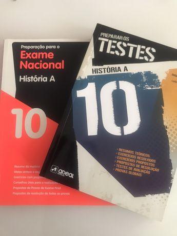 Livros de prepraçao para Testes e Exame de História A