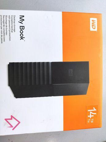 """Внешний жесткий диск WD 14TB 3.5"""" USB 3.0 MyBook"""