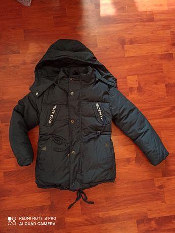 Зимняя теплющая куртка парка128