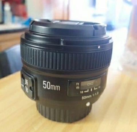 Obiektyw Yongnuo 50mm - Nikon- Idealny.