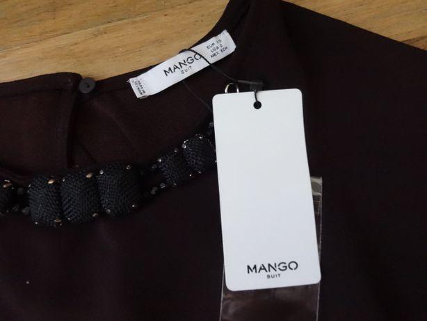 Красивое платье MANGO XS-S прямого кроя
