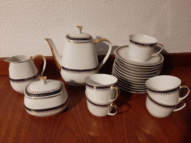 Conjunto chá Coimbra 12 chávenas