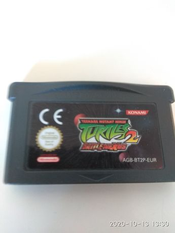 Jogo Nintendo ds teenage mutant ninja turtles 2 battle nexus