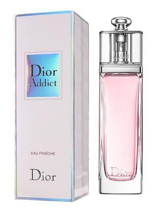 Продам женскую туалетную воду Dior Addict Eau Fraishe 100ml Франция