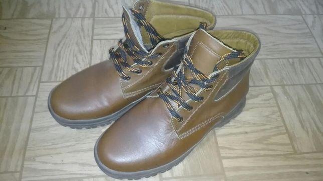 Обувь зимняя кожа мех