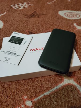 Power Bank IWALK Chic Air 8000mAh Wireless Charger Black