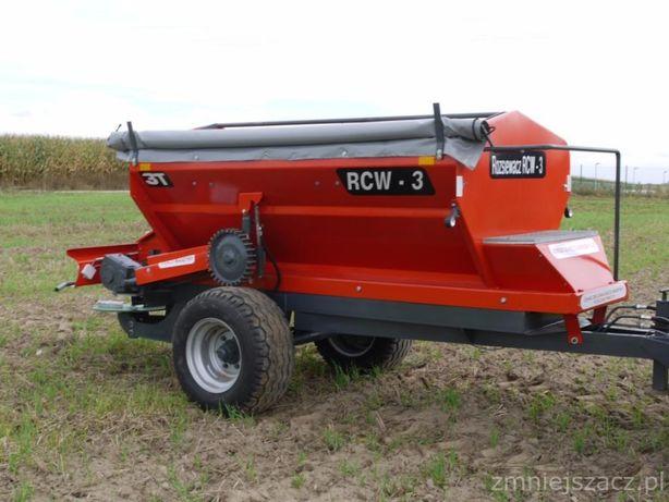 Rozsiewacz do wapna i nawozu RCW-3 Ł