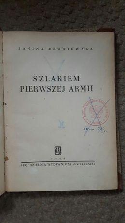 Szlakiem pierwszej armii Broniewska oraz Opole album 1963