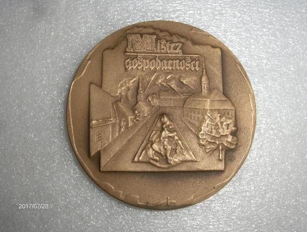 Medal pamiątkowy Mistrz Gospodarności