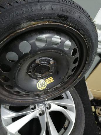 Koło Zapasowe Zapas Dojazdowe Opel Astra 4 J 16''