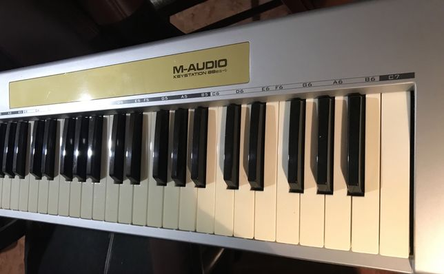 M audio midi 88 teclas