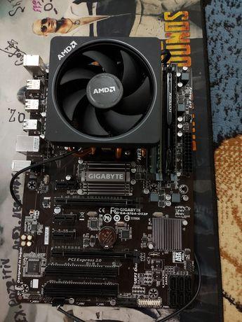 Игровой комплект AMD FX-8350 + mb Gigabyte GA-970A-DS3P 14GB Озу DDR3