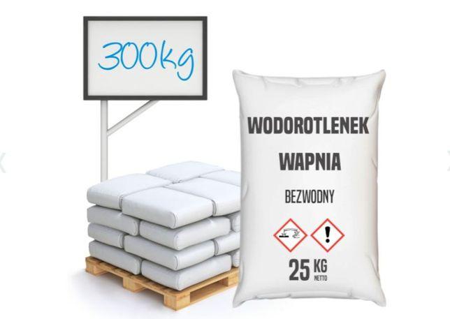 Wodorotlenek wapnia bezwodny (wapno gaszone)-300 kg - 12 worków