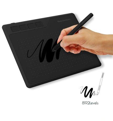 Графический планшет Gaomon S620 + набор стержней + перчатка. Гарантия!