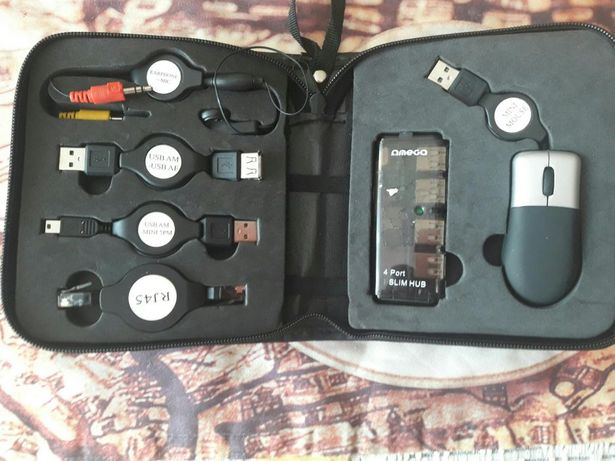 Travel Cable Bag usb