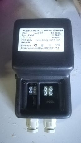 Transformador EVGE 100VA 12V IP65 HOESCH Prova de agua